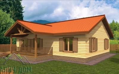 План дома из бруса 10х12 (маркер4)