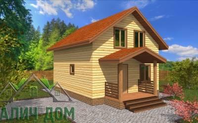 Дом из бруса 6х7
