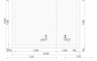ДБ-34 _ 5. План кровли (1)