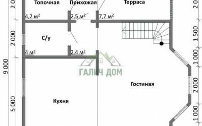 ДБ-38 _ 1. 1-й этаж