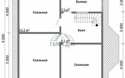 ДБ-38 _ 2. 2-й этаж