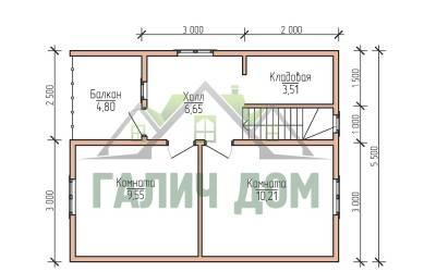 7х8 (план 2 этажа)маркер