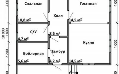 Срочный №2 _ 1. 1-й этаж