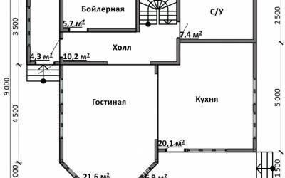 Срочный №3 _ 1. 1-й этаж
