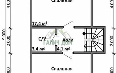 Срочный №4 _ 2. 2-й этаж