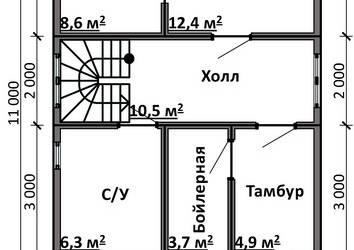 Срочный №8 _ 1. 1-й этаж