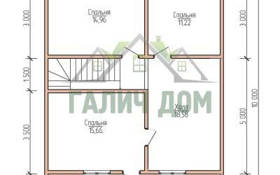 10х7 (план 2 этажа)маркер