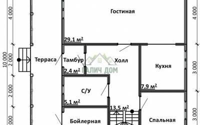 Срочный №9 _ 1. 1-й этаж