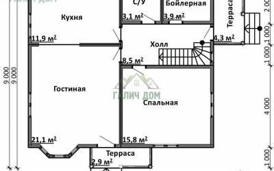 Срочный №11 _ 1. 1-й этаж