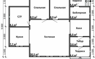 Срочный №12 _ 1. 1-й этаж