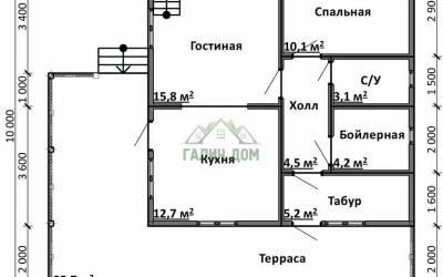 Срочный №13 _ 1. 1-й этаж