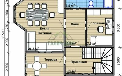 Срочный №14 _ 1. 1-й этаж