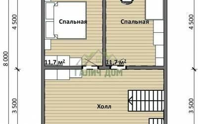 Срочный №14 _ 2. 2-й этаж