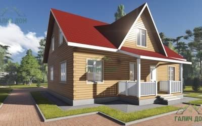 Дом из бруса 6х11