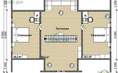 Срочный №15 _ 2. 2-й этаж