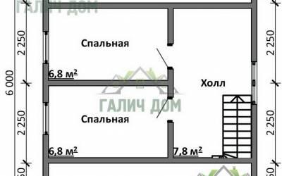 Срочный №17 _ 2. 2-й этаж