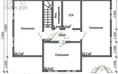 Срочный №18 _ 2. 2-й этаж