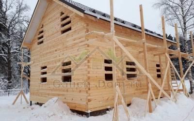Дом из бруса от Костромского производителя