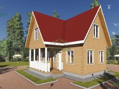 Картинка (2) Дом из бруса 10х11 (ДБ-17)
