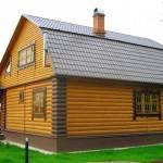 Красивый дачный дом