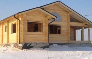 Дачные дома из бруса из Костромы