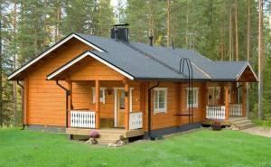 Купить дачный дом из бруса