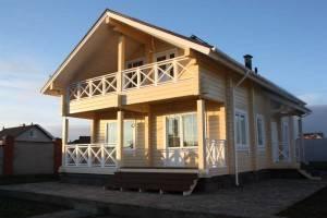 Проекты домов из бруса 200х200