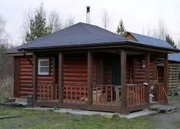 Маленькие деревянные дома