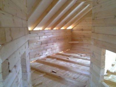 Картинка (12) Внутри дома из бруса 9 на 9 (ДБ-31)