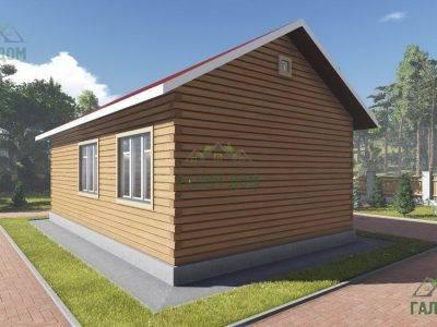 Картинка (4) Проект одноэтажного дома из бруса 6х10 (ДБ-14)