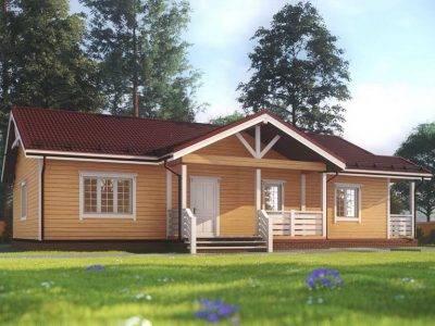 Картинка (5) Проект одноэтажного дома из бруса 13х15