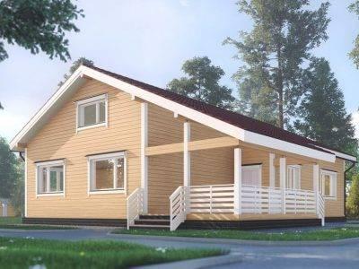 ДБ-173 | Современный одноэтажный дом 12х15