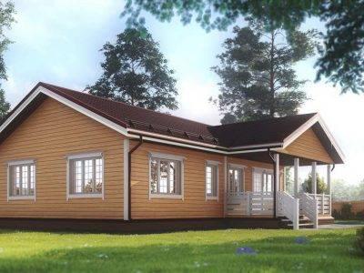 Картинка (3) Одноэтажный дом 10х12 из бруса