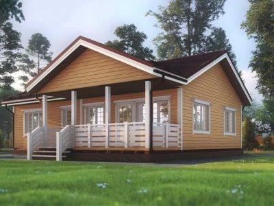 Картинка (2) Одноэтажный дом из бруса 10х12