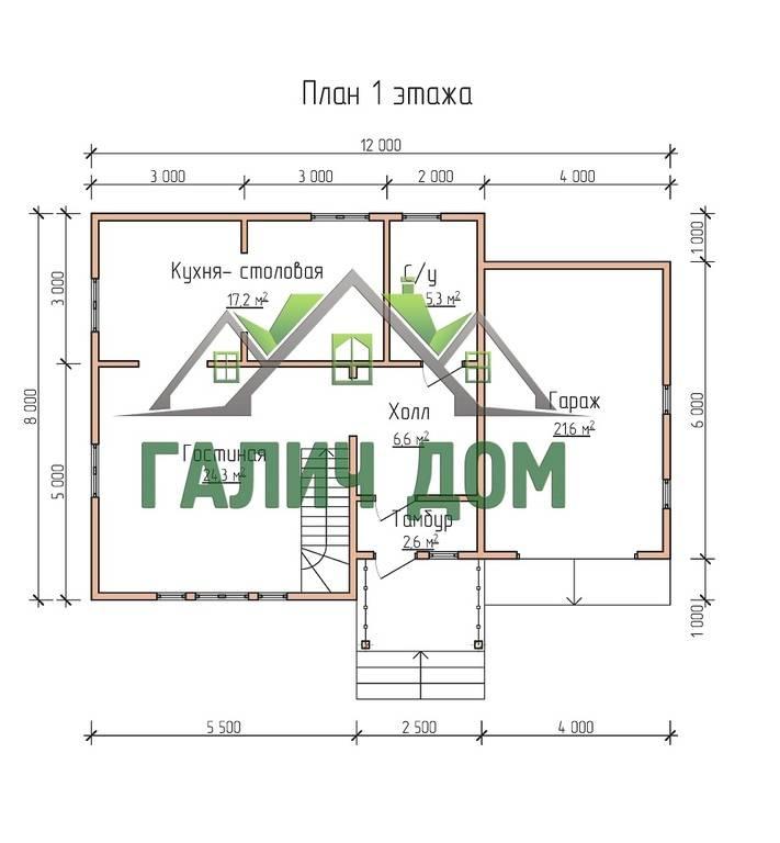 Смотреть Проекты домов из бруса для постоянного проживания: строим комфортное жилье видео