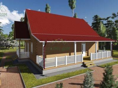Картинка (4) Проект дома из бруса 11х13 (ДБ-75)