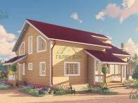 ДБ-64 | Проект дома из бруса 10х13