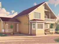 ДБ-62 | Дом из бруса 10 на 13