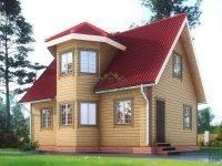 Дом из бруса 7х9