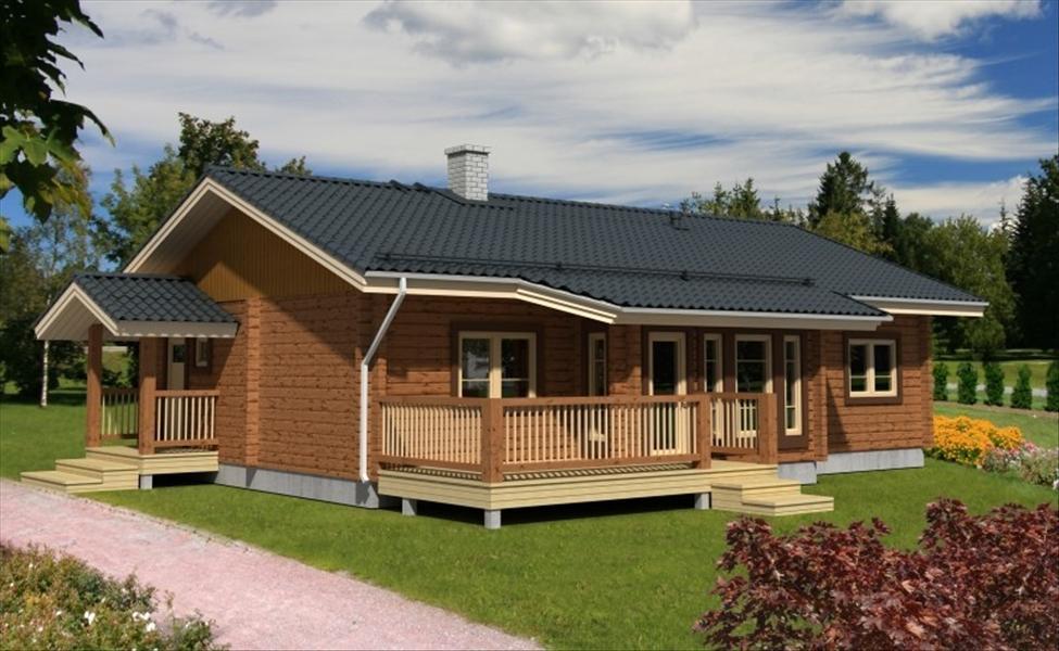Строительство дома из бруса. Одноэтажные дома из бруса