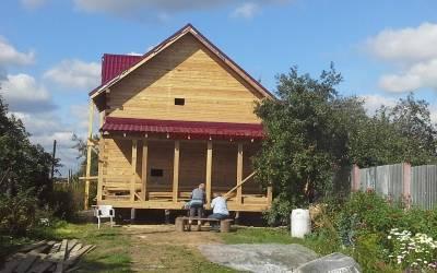 Дом из бруса размером 6х11