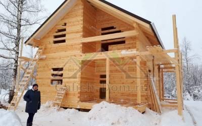 Дом из профилированного бруса 145х145 мм