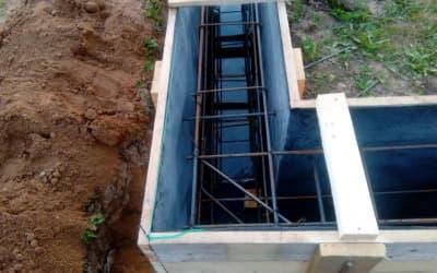 Прокладка гидроизоляции