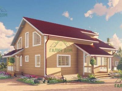 Картинка (4) Проект дома из бруса 10х13 (ДБ-64)