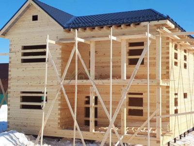 Двухэтажный дом для проживания в Ногинском районе