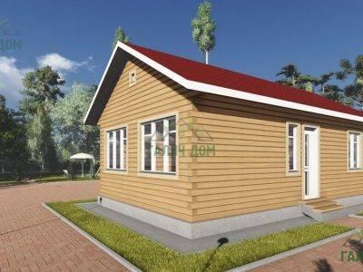Картинка (4) Проект одноэтажного дома 6х10 (ДБ-103)