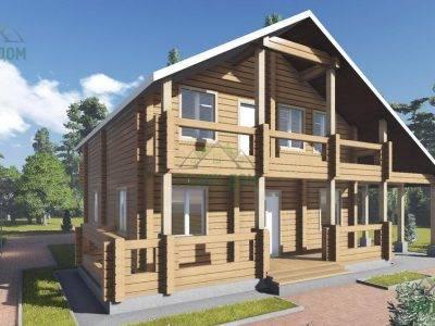 Картинка (4) Проект дома из бруса 11х14 (ДБ-105)