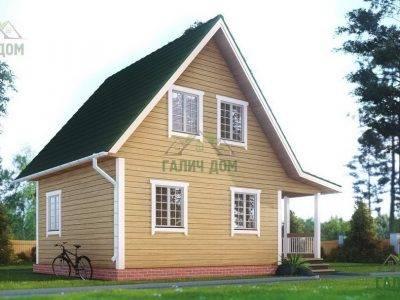 Картинка (4) – Дом из профилированного бруса 6х8