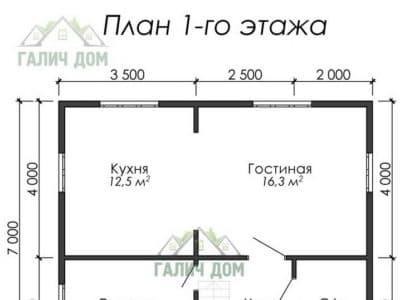 Картинка (5) План 1 этажа (ДБ-12)
