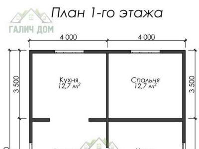 Картинка (5) План 1-го этажа (ДБ-18)